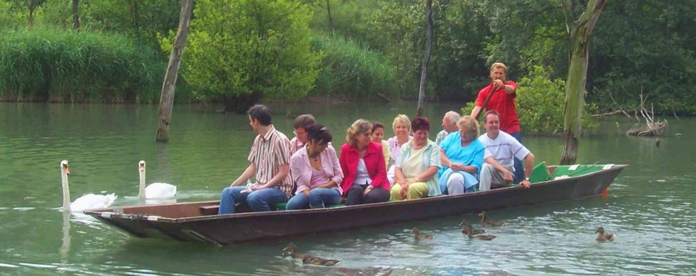 Taubergießen-Bootsfahrten | Fischerkahnfahrten durch den 'Amazonas am Oberrhein'